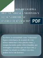 LA NEGACIÓN RELIGIOSA DEL MUNDO SUS MOTIVOS Y