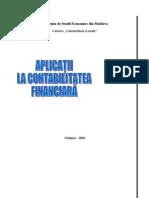 Aplicatii La Contabilitatea Financiara