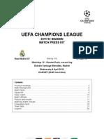 2011-12 (UCL) Real Madrid - Apoel Nicosia