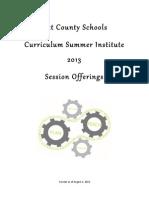 CSI 2013 Program