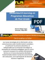 FATLA - Diomira Hidalgo - Modalidad Blearning en Programas Educativos de PostGrado- Modulo 10