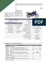 Honda XL650V Transalp - Consumabile