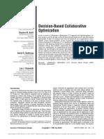 Collaborative Optimization