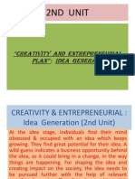 Creativity & Entrepreneurial(Iind Unit) (1)