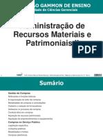 Administração de Recursos Materiais e Patrimoniais II