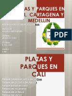 Plazas y Parques Colombia