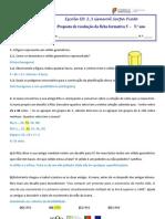 Ficha Formativa 5 - Proposta de resolução
