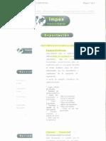 Información Documentación.Impex