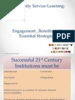 understanding community service learing engagement model