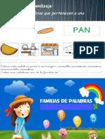 PPT de Familia de Palabras