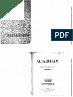 ALIARCHAM, Sedikit Tentang Riwajat Dan Perdjuanganja - Perhimpunan Dokumentasi Indonesia (1964)