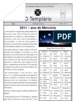Jornal o Templario Ano6 n45 Janeiro 2011