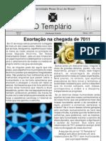 Jornal o Templario Ano6 n47 Marco 2011