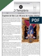 Jornal o Templario Ano6 n50 Junho 2011