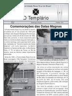 Jornal o Templario Ano6 n54 Outubro 2011
