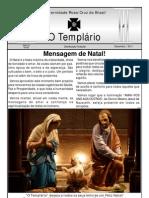 Jornal o Templario Ano6 n56 Dezembro 2011