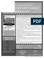 Winter Newsletter 2013