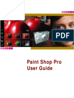 PaintShopPro User Guide