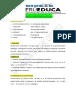 Plan de Capacitacion Peru Educa 2013