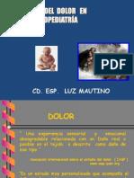 CLASE Manejo Del Dolor.