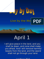 April 09 Day by Day