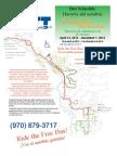 Steamboat Springs summer bus schedule