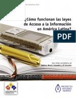 Como Funcionan las leyes de acceso a la información pública en América Latina