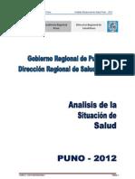 Analisis de La Situacion de Salud Diresa Puno 2012