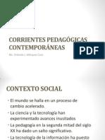 1 Presentación Corrientes pedagógicas