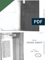 Pengantar Oposisi Rakyat - Ibnu Parna (1954)