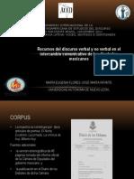 Recursos Del Discurso Verbal-y No Verbal en El Inetercambio Comunicativo