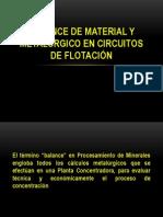 BALANCE DE MATERIAL Y METALÚRGICO PARTE1
