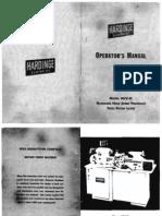 Hardinge HLV H Manual[1] Copy
