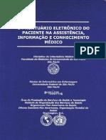 O Prontuário Eletrônico do Paciente na Assistência, Informação e Conhecimento Médico