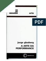 a arte da performance - jorge glusberg - página 33