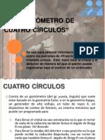 Difractómetro de cuatro círculos