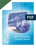 training binder - for portfolio