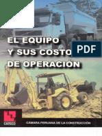 El Equipo y Sus Costos de Operacion
