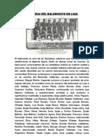 Historia Del Baloncesto en Loja