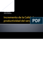 calidadyproductividadenelservicio-110521102508-phpapp01
