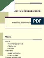 Scientific Communication A