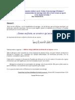Comment Realise t on Le Festin d Un Mariage Walima (Rabi'e)