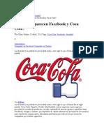 En qué se parecen Facebook y Coca Cola