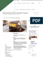 Receitas Supreme – Receita de bolo-pudim de chocolate e maracujá