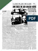 Colonel Earle Johnson Death