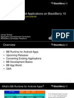 BlackBerry Runtime for Android Apps