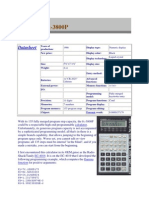 Casio Fx 3800P