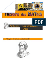 gazette 7 - mathhist - 2 grce 2 pythagore