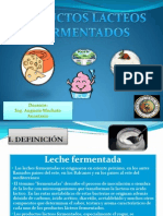 Diapositivas de Productos Lacteos Fermentados