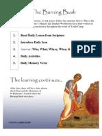 Orthodox Christian Burning Bush Curriculum